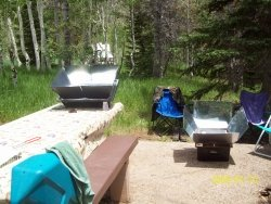 Summer Camping Solar Cooking