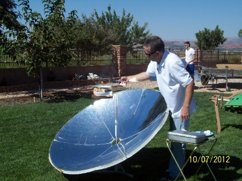 Parabolic Solar Cooker Photo