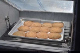 Solar Baked Cookies
