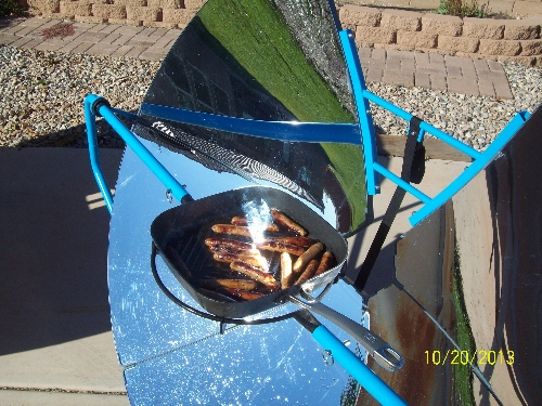 SolSource Solar Cooked Sausage