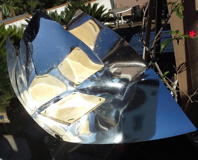 solar panel cooker