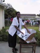 solar box cooker, Africa