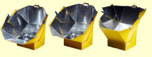 A sample of what an All Season Solar Cooker looks like