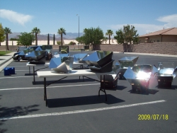 Solar Cooker arsenal