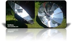 build parabolic solar cooker