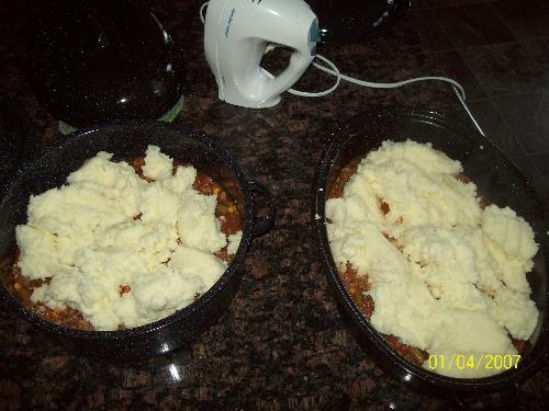 solar cooker shepards casserole