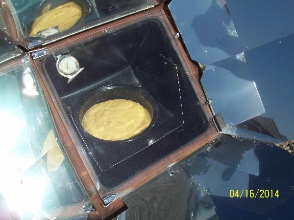 Sun Oven Cornbread