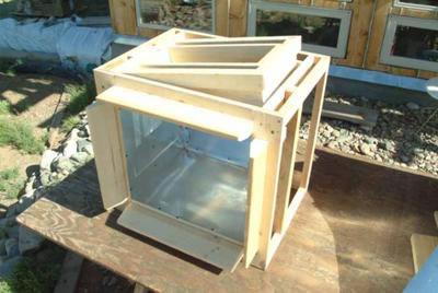 Frame and inner box