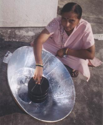 Homemade cooker in India