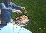 Parabolic Cooked Veggies