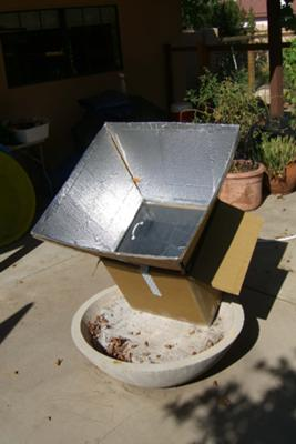 Homemade Solar Cooker Oven And My Results