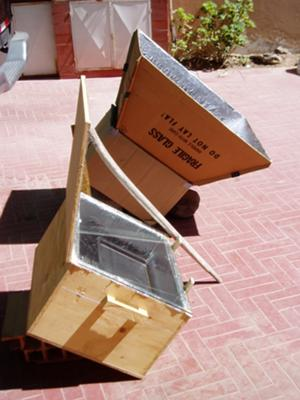Homemade solar cooker/oven and my results