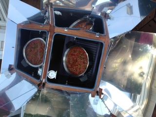My Sun Oven Chili