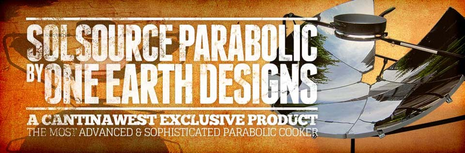 SolSource Parabolic Cooker