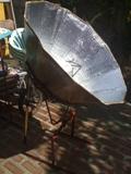 My Parvati solar cooker