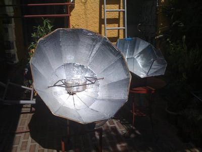 My Parvati and All Season Solar Cooker