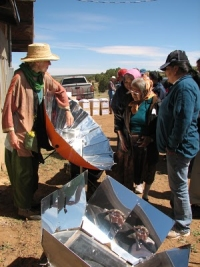 Navajo solar cooking