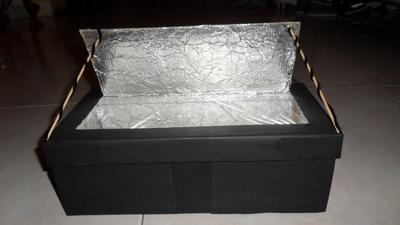 Science project Solar cooker for 7th Grade