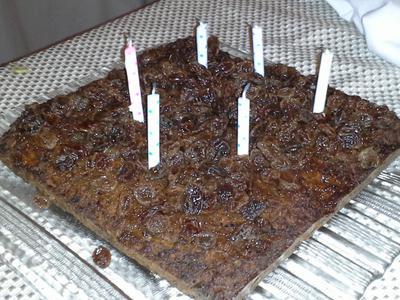 Solar Birhday Cake -GAPS Carrot Cake