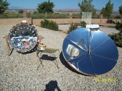 Solar Cooking Bacon
