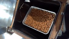 Solar Cooked Sugar Cinnamon Almonds
