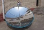 "Parabolic Solar Cooker: Cantinawest's ""Solar Burner"