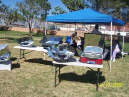 solar cooker class, St. George, Utah