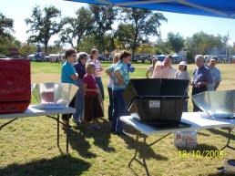 solar cooking class, St. George, Utah
