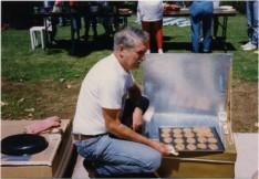 Solar Box Cooker, cookies