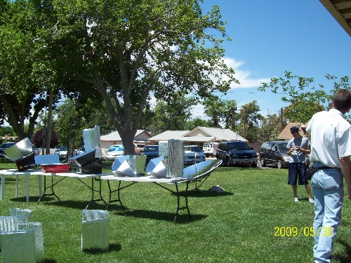 Spring Solar Cooking Class in St. George, Utah