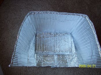 Solar cooker kids science project