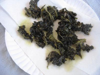Hot Pot Salted Kale Chips