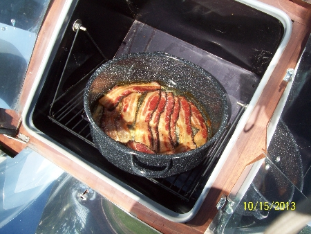 Baking Bacon in Sun Oven
