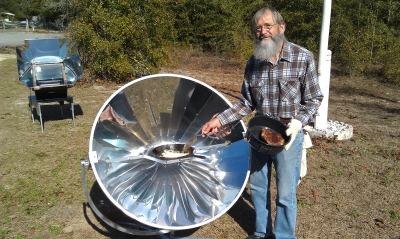 SunPower Parabolic And Sun Oven