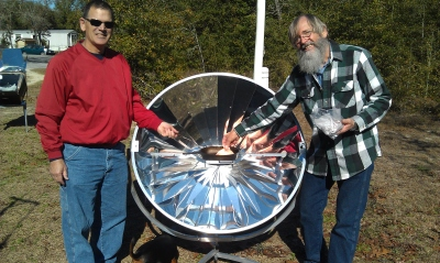 SunPower Parabolic Cooker