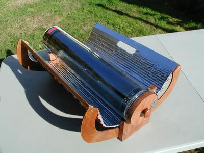 Gourmet Solar Oven in cooking mode