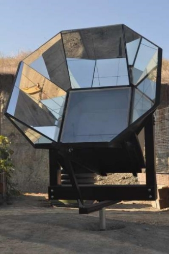 Les McEvers Homemade Solar Oven