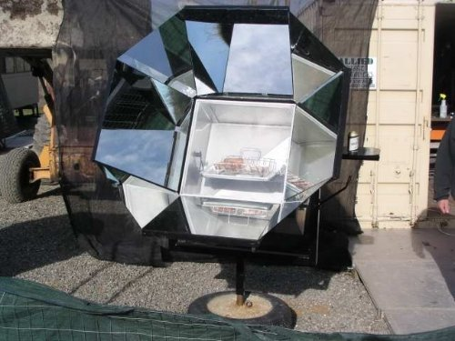 Les McEvers Homemade Solar Oven 3