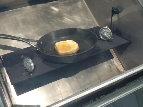Solar Grilled Cheese