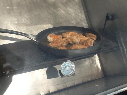 Fried Chicken Solar Style