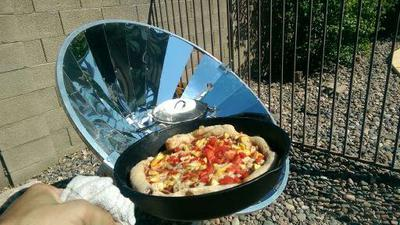 ny homemade vegan pizza