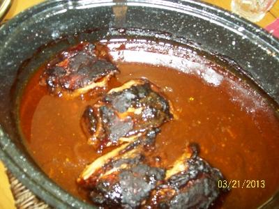 Solar Oven BBQ Chicken