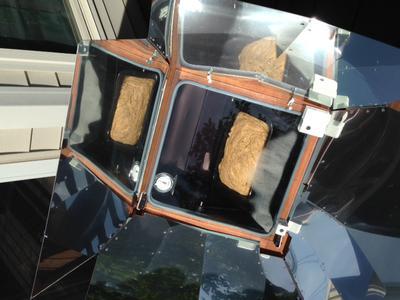 Beer Bread in the Sun Oven