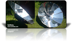 build parabolic solar cooker