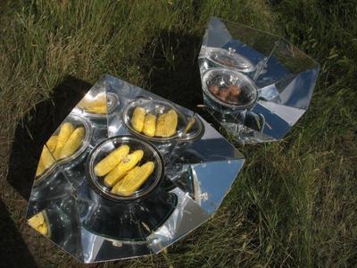 Corn and Potatoes in Hot Pot