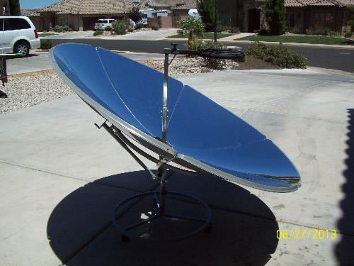 Cantinawes's Solar Burner