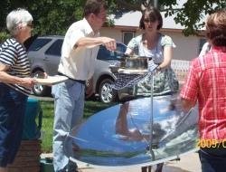 parabolic solar cooker, solar burner