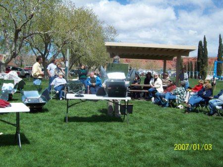 Solar Cooking Class