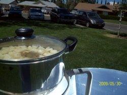 Solar Parabolic Potatoes