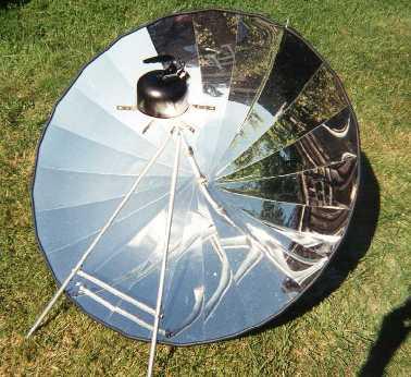 Parabolic style cooker